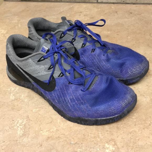 Nike Metcon 3 Persian Violet   Black   Grey. M 5b22a0c14ab633b6848f9574 fa8136323
